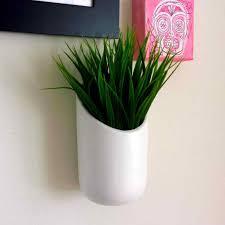 rhiqcom popular white ceramic wall planter items for air plant planters on ceramic wall planter