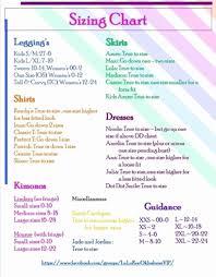 Lularoe Size Chart Debbie Www Bedowntowndaytona Com