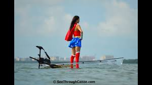 Transparent Canoe Kayak Wonder Woman See Through Canoe Brand Transparent Kayak Hybrid