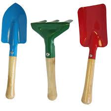 find saxon kids garden tool set 3
