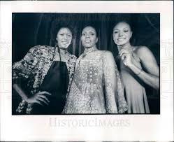 1976 Denver, CO Models Marian Jones, Avis Fleming, Kersena Joyce Press    Historic Images