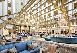 Living Room Bar And Terrace Lounges In Washington Dc Trump Hotel Dc Benjamin Bar Lounge
