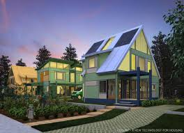 Green Technology House Design Loq Kit A New Technology For Housing