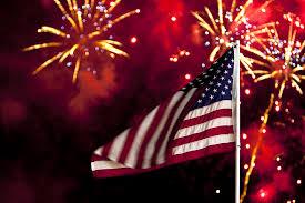 Bigstock July Flag And Fireworks 5392835