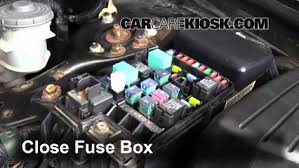 blown fuse check 2003 2007 honda accord 2006 honda accord ex 2 4 6 replace cover secure the cover and test component