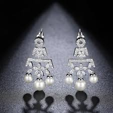 pearl chandelier bridal earrings pearl chandelier bridal earrings pearl drop wedding earrings australia