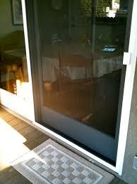 sliding screen door glass