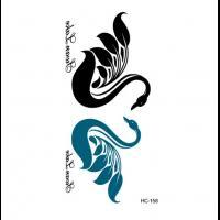 Dočasné Tetování Pro Páry Nápisy Ii Prokrasueu