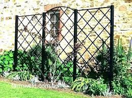 metal trellis panels garden trellises panel traditional steel wall australia metal trellis