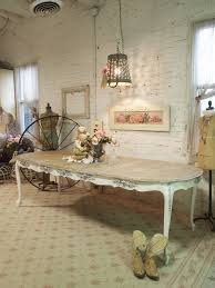white dining table shabby chic country. Painted Cottage Chic Shabby White French Dining Table TBL16. $695.00, Via Etsy. Country U