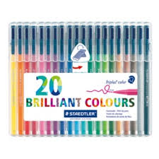 Staedtler Triplus Color Chart Staedtler Triplus Color 323 Triangular Fibre Tip Pen