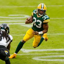 Is Aaron Jones past his prime already heading into a contract year ...
