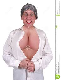 Funny Ugly Mature Senior Woman Big Breasts Boobs Stock Image Image Of Imply Breasts 23795471