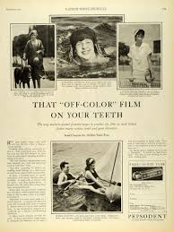 1927 Ad Pepsodent Toothpaste Val Lester Betty Mar Rowe Dentifrice ...
