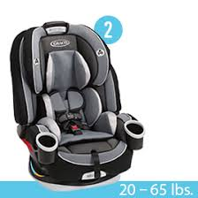 Step 2: Forward-Facing 5-Point Harness Seat Car Stages as Your Baby Grows | BJs Stocked