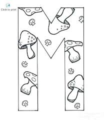 Mm Coloring Pages M Coloring Pages Free Printable Letter M Coloring