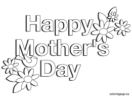 Small Picture Happy Happy Mothers Day Coloring Pages Nice Co 7414 Unknown