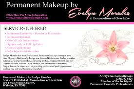 permanent makeup by evelyn mes houston tx