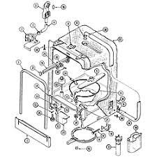crosley crosley dishwasher parts model cdu5jv sears partsdirect tub cdu5jv
