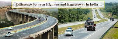 difference between national highway and