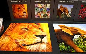 2017 las vegas souvenir resort gift show mosiac puzzles by zen art and design