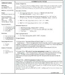 Resume Format Template Free Download Cv Resume Template Word Free ...
