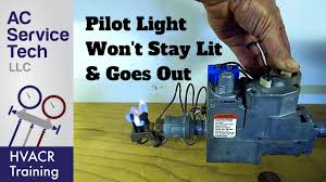 Oil Furnace Pilot Light Won T Stay Lit Top 10 Reasons Why The Gas Pilot Light Goes Out Wont Stay Lit
