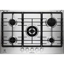 electrolux gas hob. grade a2 - electrolux egg7353nox 75cm five burner gas hob stainless steel