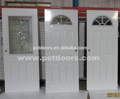Buy Double Doors Galvanized Steel Door With 4 Panelexterior Door Stylesused