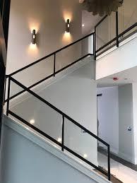 interior glass stairwell
