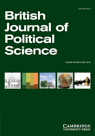 British Journal Of Political Science Cambridge Core