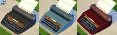 Sims 4 Typewriter