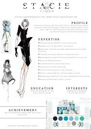 Fashion CV example and how it was created http://stacieclark.blogspot.