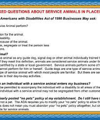 gt; Summary Ada Requirements Animals Service -
