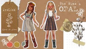 Opal | The Sims 4 | Atelier Fleur de Coton