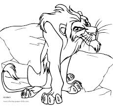 Lion King Coloring Sheets Adamoappscom