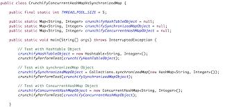 hashmap vs concurrenthashmap vs synchronizedmap  how a hashmap