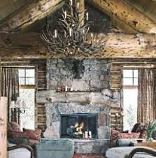 french country, rustic fireplace. I love the distressed mantel - love it!