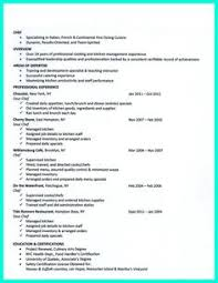 Best Chef Resume Examples Getting A Job As An Apprentice Electrician ...