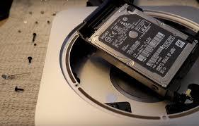 Upgrade, aluminum, mac mini, hard, drives or, sSDs