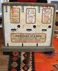 Stamp Vending Machines Best Antique Vending Machines The American Collector