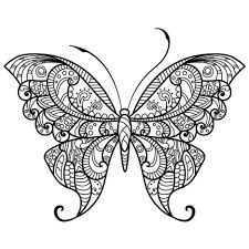 Small Picture Butterflies Coloring Pages For Adults Part 2 Free Resource For