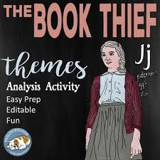 best the book thief images the book thief  the book thief themes textual analysis activity