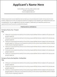 correct format of resumes effective resume examples professional banking resume sample