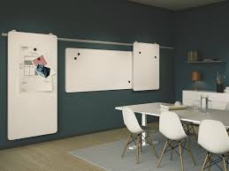 whiteboard for office wall. Wall-mounted Sliding Office Whiteboard MOOW By Abstracta For Wall
