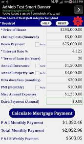 Free Loan Payment Calculator Mortgage Home Loan Payment Calculator Free 1 1 3 Apk Androidappsapk Co