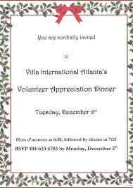 Formal Dinner Invitations Invitation Template Word Business