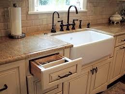 white kitchen sink. Farmhouse Sinks With Graniter Tops   Square Shaped Farm For Kitchens : White Kitchen Sink R