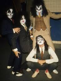<b>KISS</b> - <b>Dressed to</b> Kill unused photo,1975 (they are each wearing ...