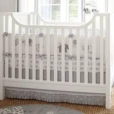 gray elephant nursery quilt bedding set